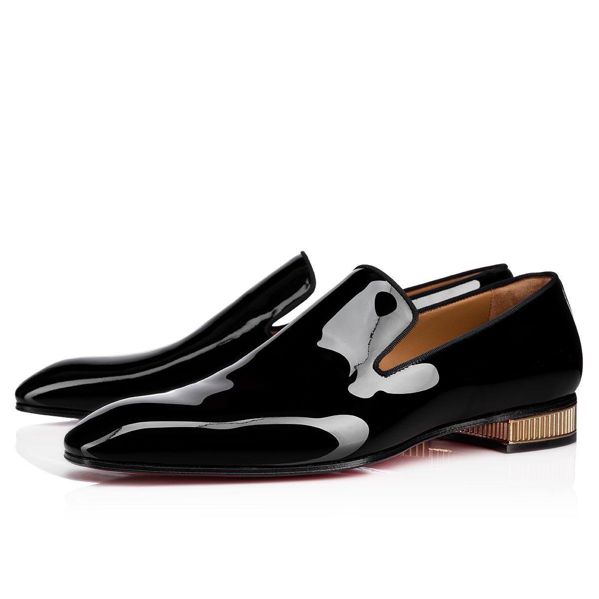 fda0d8fa05a Christian Louboutin Colonnaki Patent Gg Black Calf in Black for Men ...