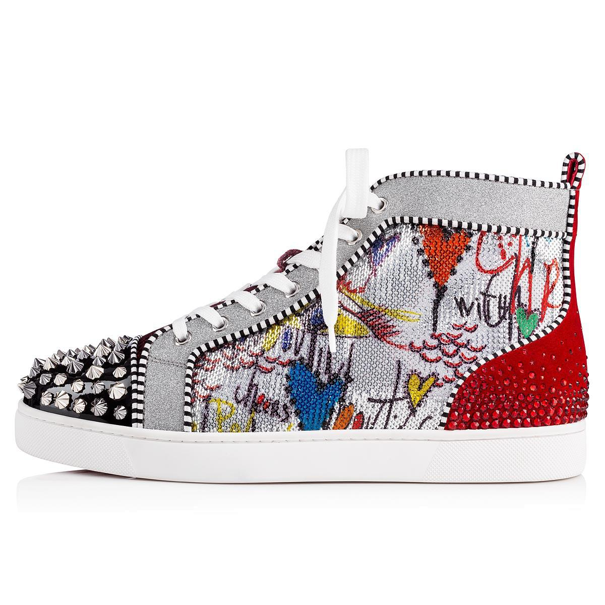 5963187bb9b Lyst - Christian Louboutin No Limit F18 in Red for Men