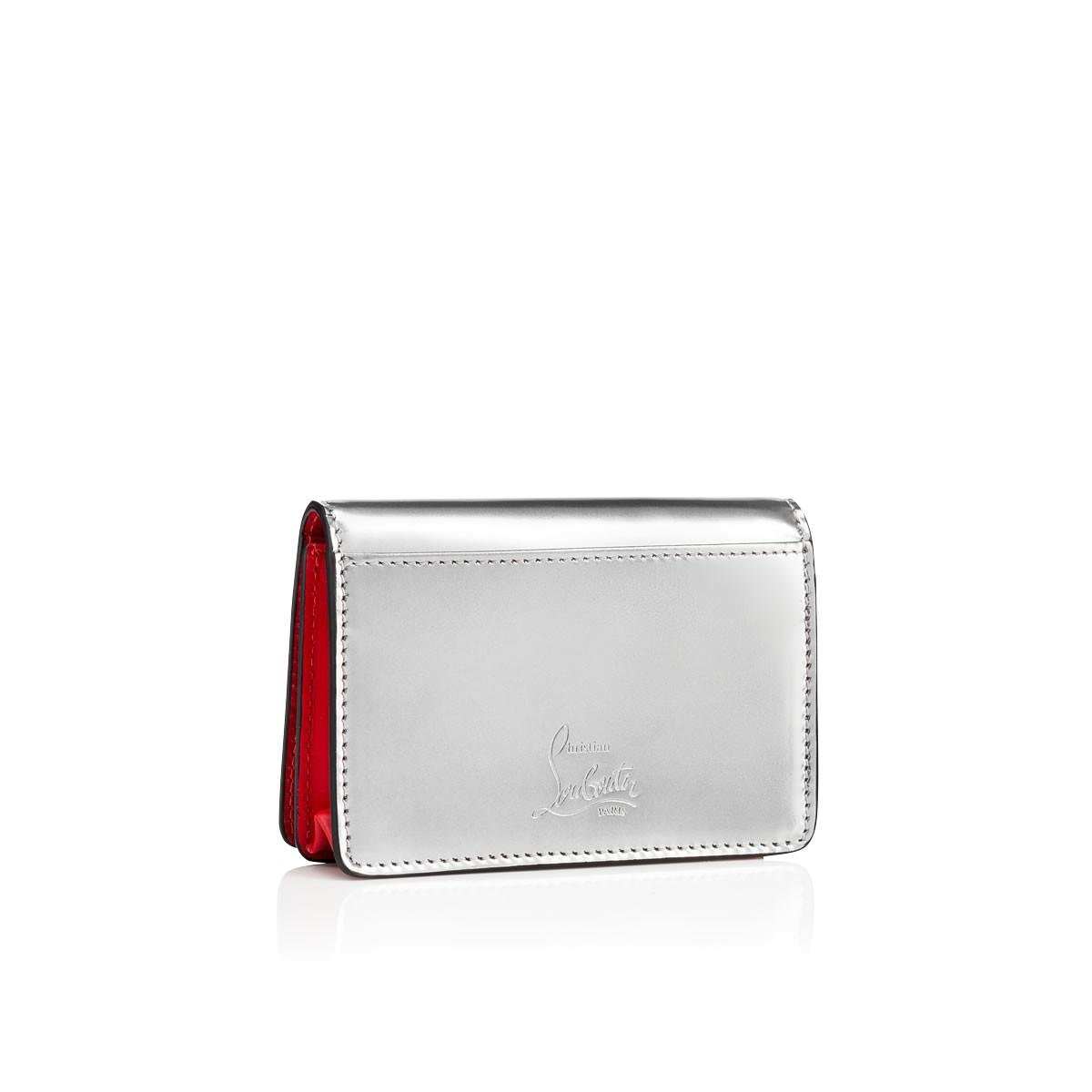 Lyst - Christian Louboutin Loubeka Business Card Case in Metallic