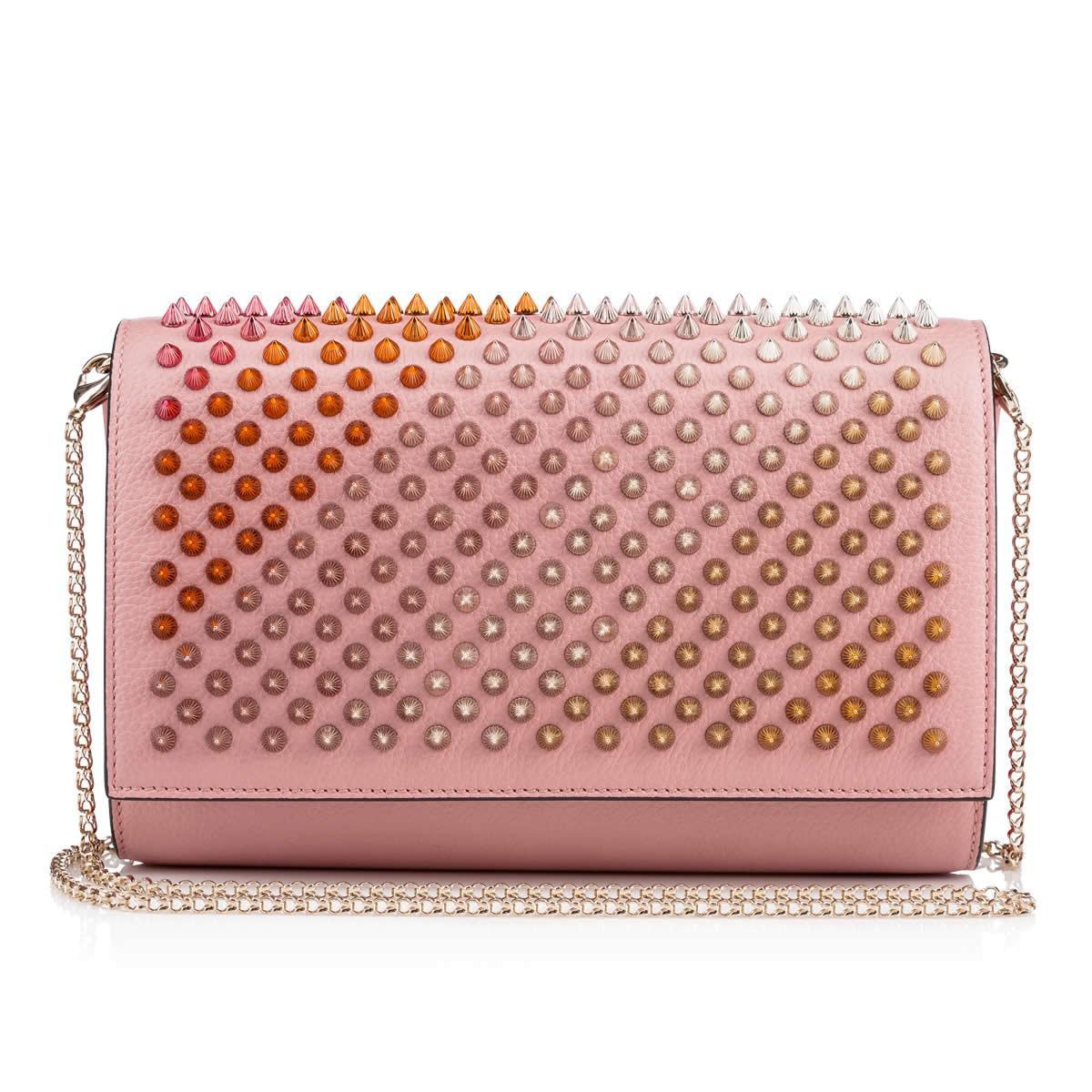 Christian Louboutin. Women's Pink Paloma Clutch
