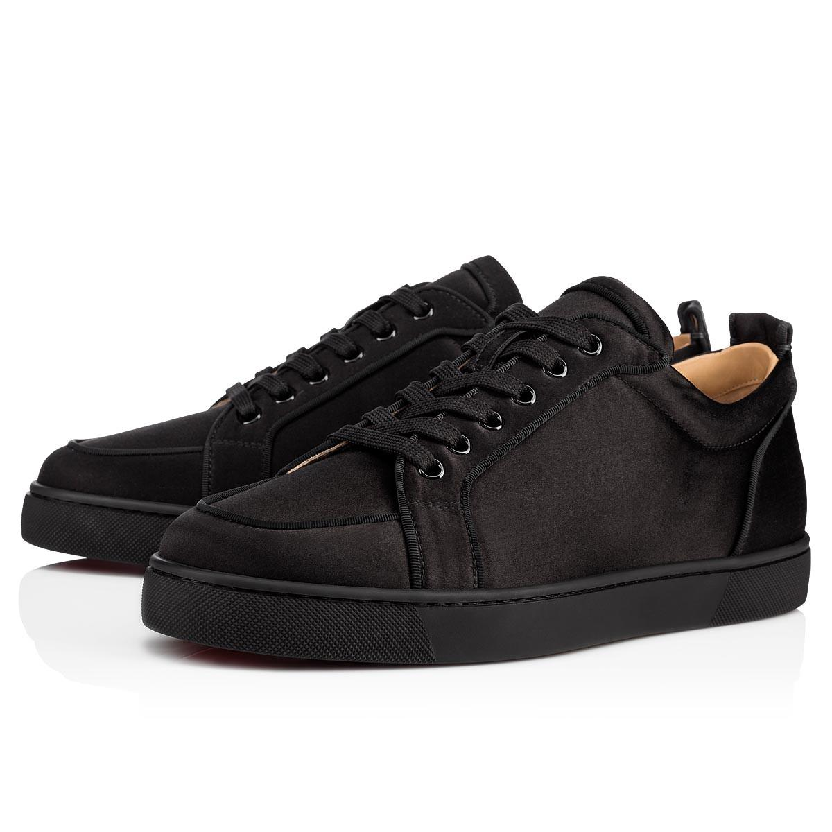 022bc55a65d Christian Louboutin Rantulow Orlato Men s Flat in Black for Men - Lyst