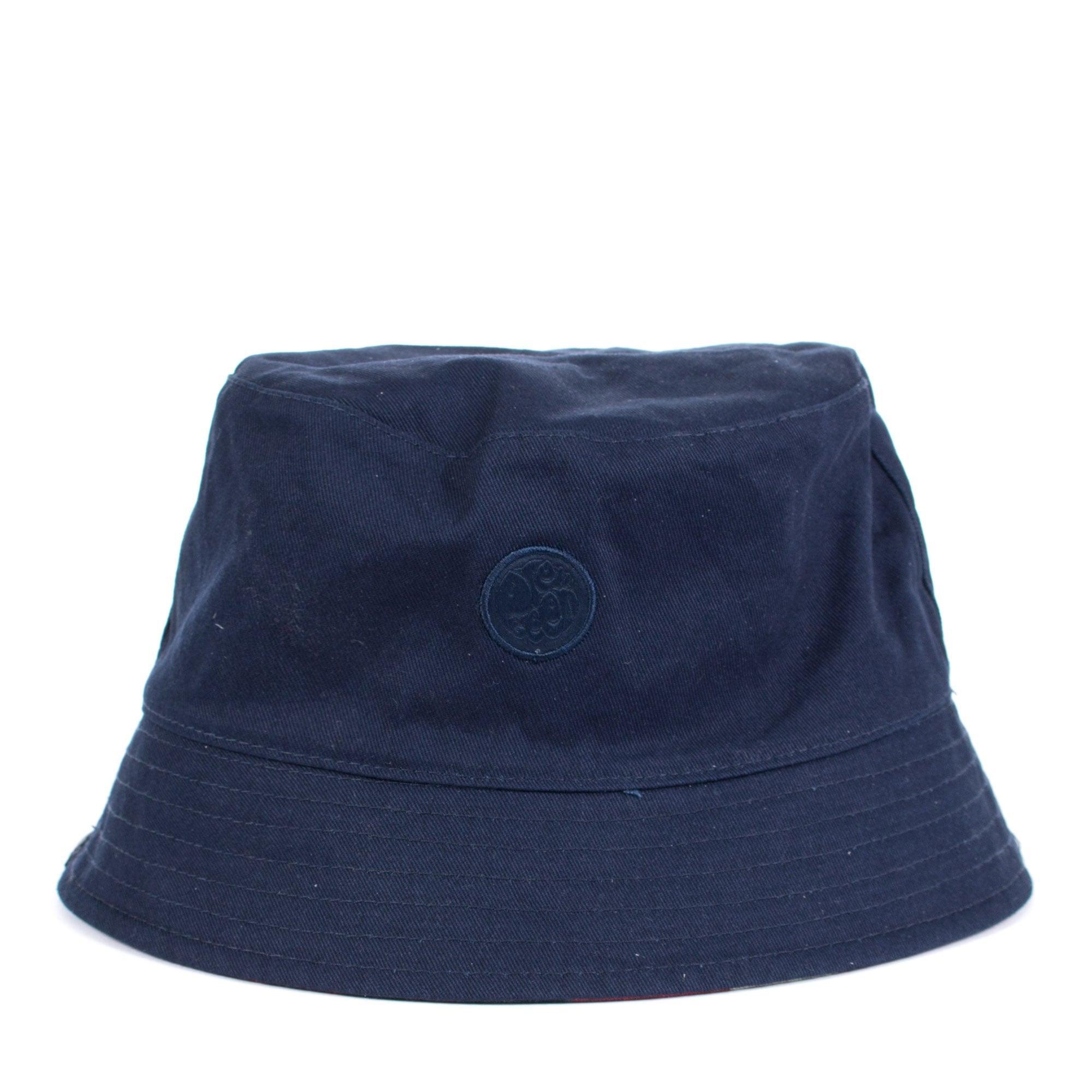 7ae55b3e515 Pretty Green - Blue Reversible Union Jack Bucket Hat for Men - Lyst. View  fullscreen