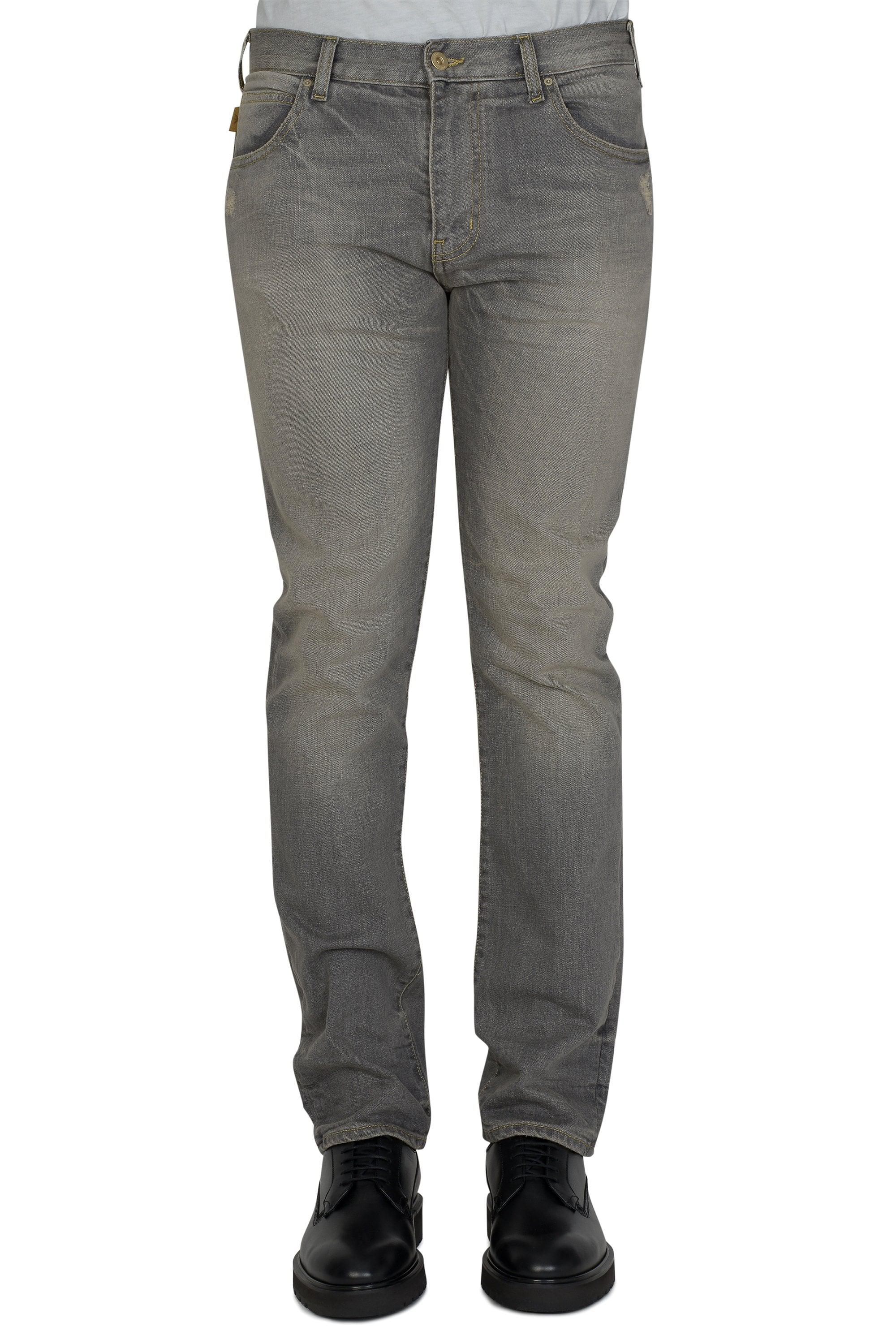 2ae96d310d Emporio Armani Vintage Wash Jeans in Gray for Men - Lyst