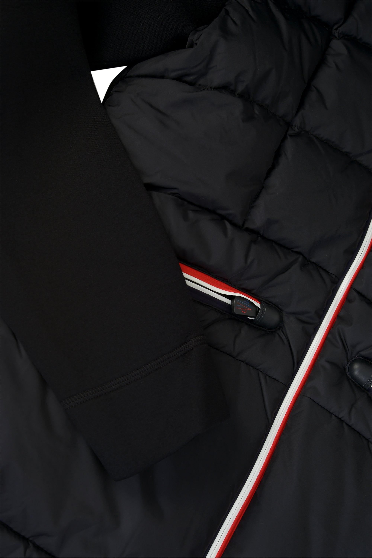 e5b62598f Moncler Grenoble Maglia Cardigan Jacket in Black for Men - Lyst