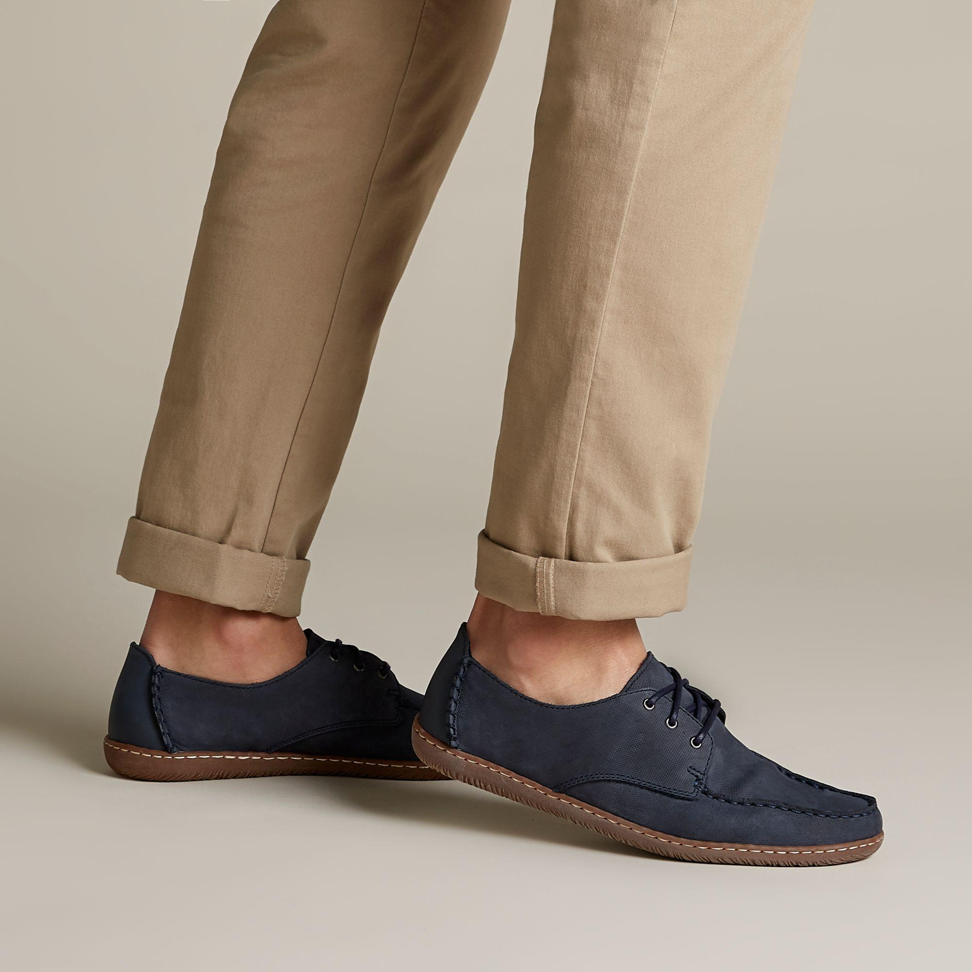 diversified in packaging great look limited price Clarks Blue Saltash Lace for men