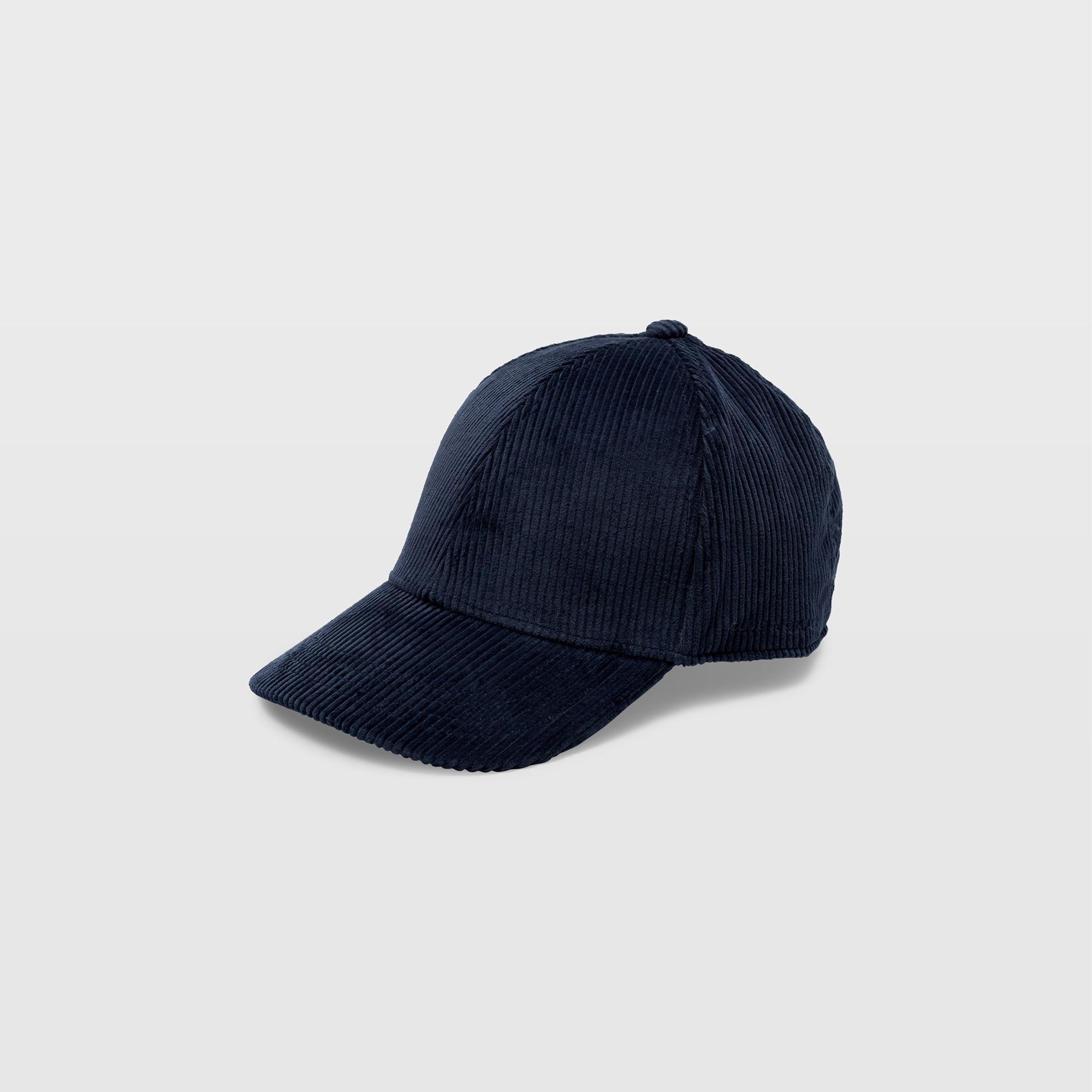 98cf119956c87 Lyst - Club Monaco Corduroy Baseball Cap in Blue for Men