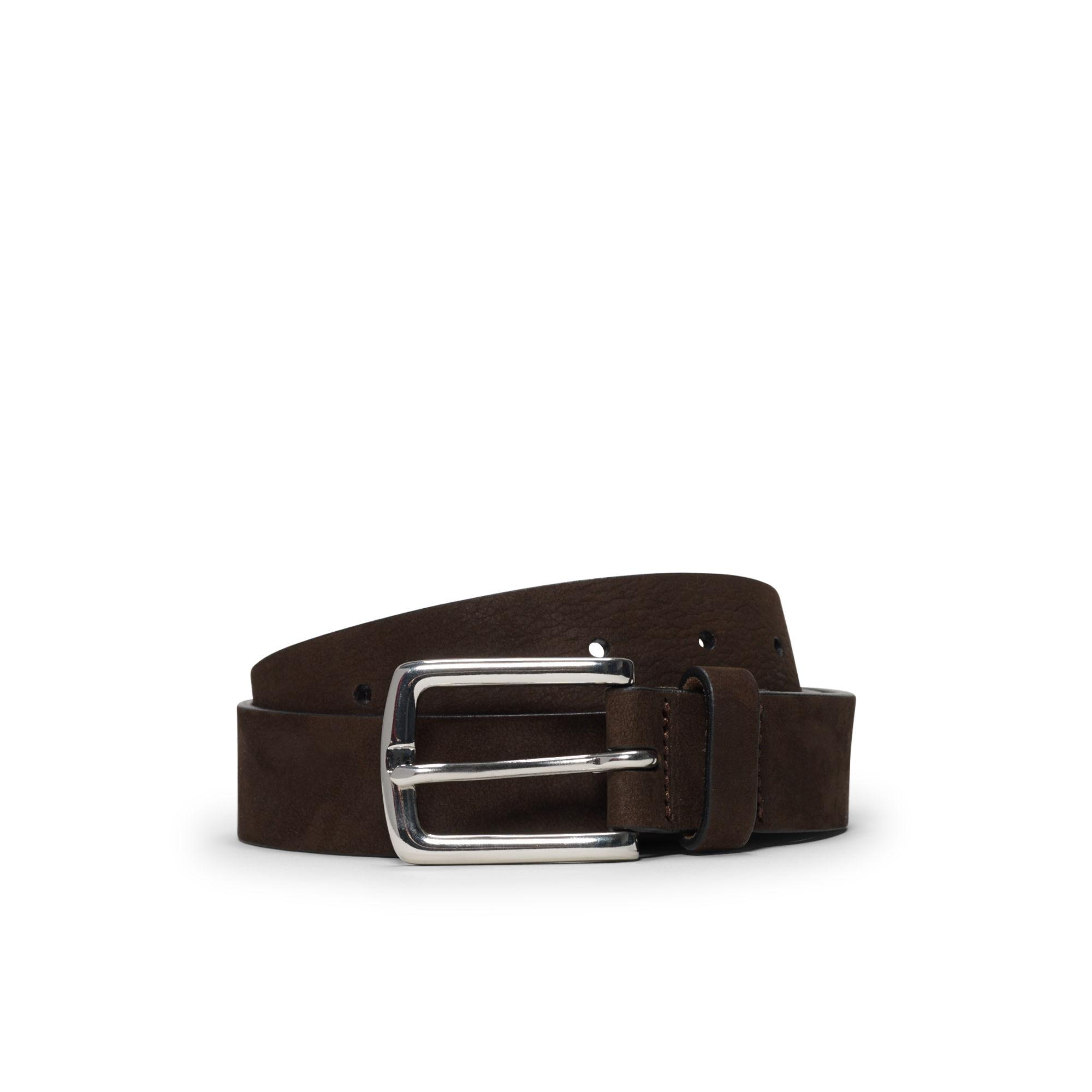 Club monaco Laird Suede Belt in Brown for Men