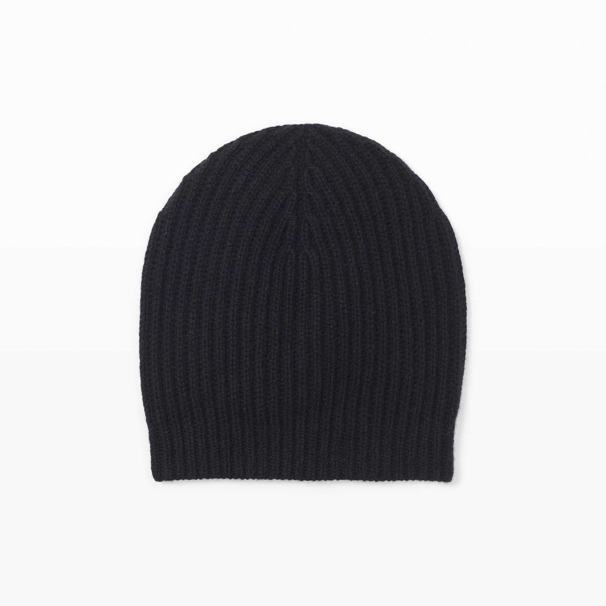 88c96e4602ce1 Lyst - Club Monaco Colleen Cashmere Hat in Black