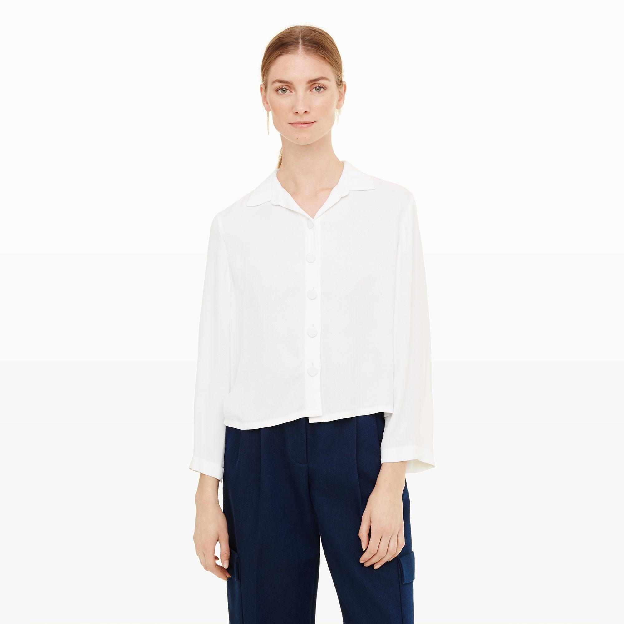 5790706284262b Lyst - Club Monaco Simonettah Top in White