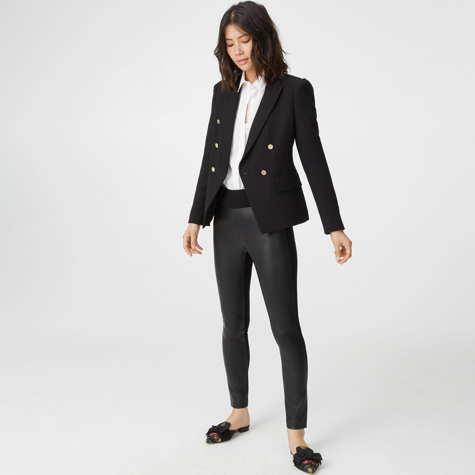 907f5716f037f Lyst - Club Monaco Tasha Faux Leather Legging in Black