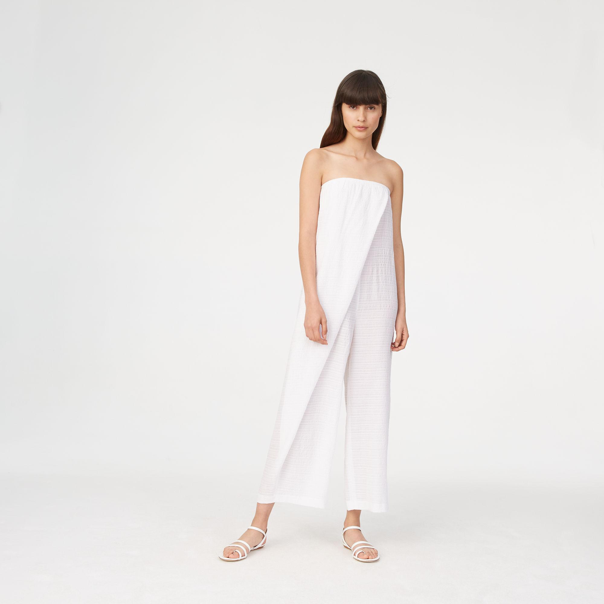 1b5332d69811 Lyst - Club Monaco Offredh Jumpsuit in White