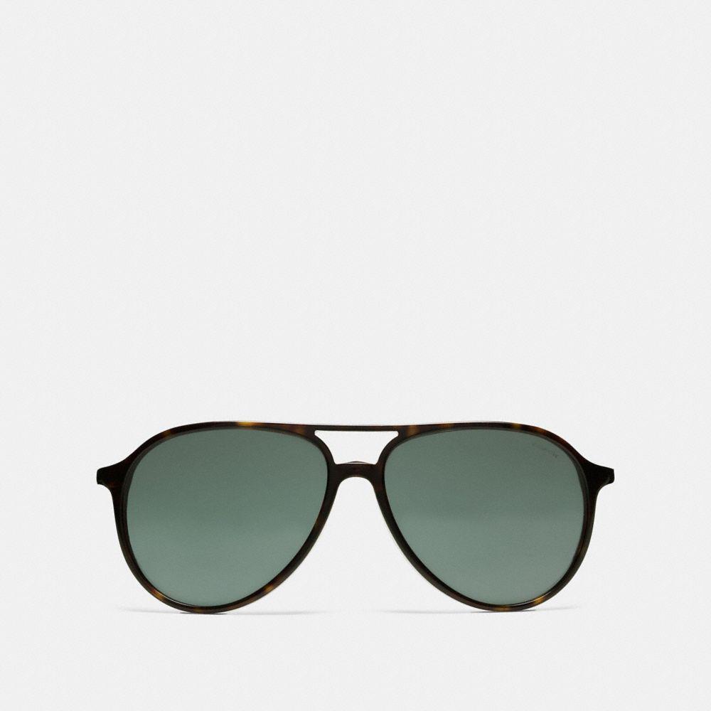 55e5e562952d5 ... italy lyst coach sutton sunglasses in green 7ca1c fa6c2