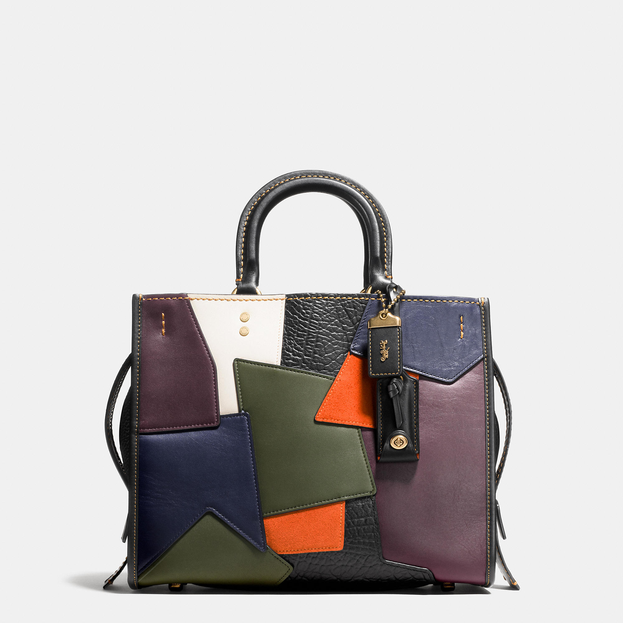 Lyst Coach Rogue Bag In Patchwork Leather