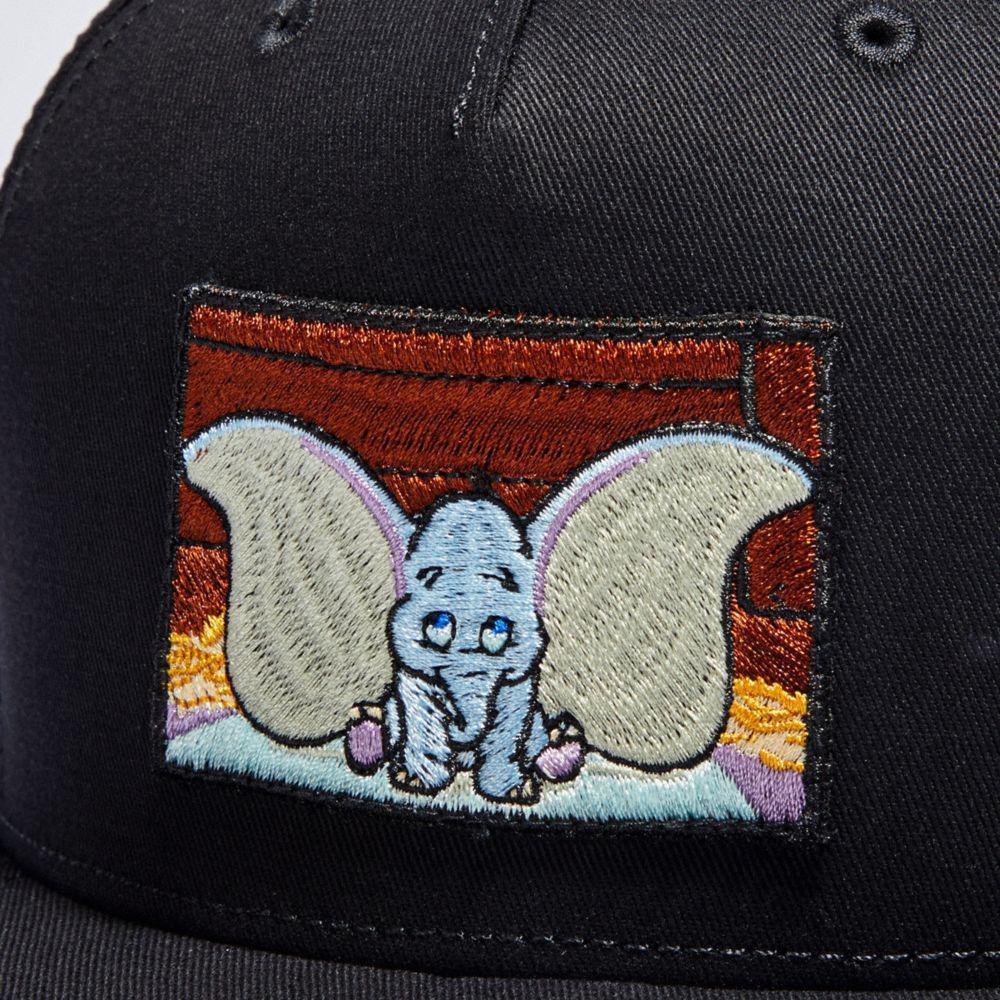 Lyst - COACH Disney X Dumbo Baseball Hat in Black for Men 1726ca64899f
