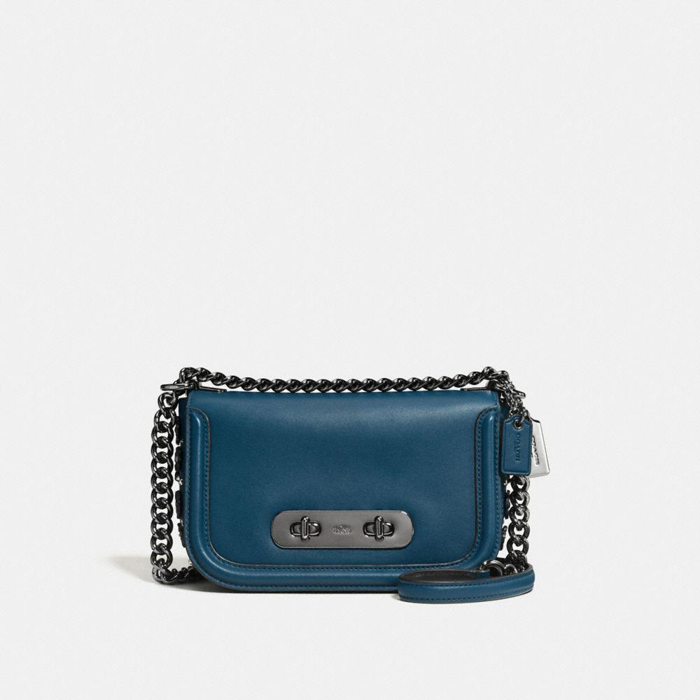 e313303f0c17 Lyst - COACH Swagger Shoulder Bag 20 In Glovetanned Leather With ...