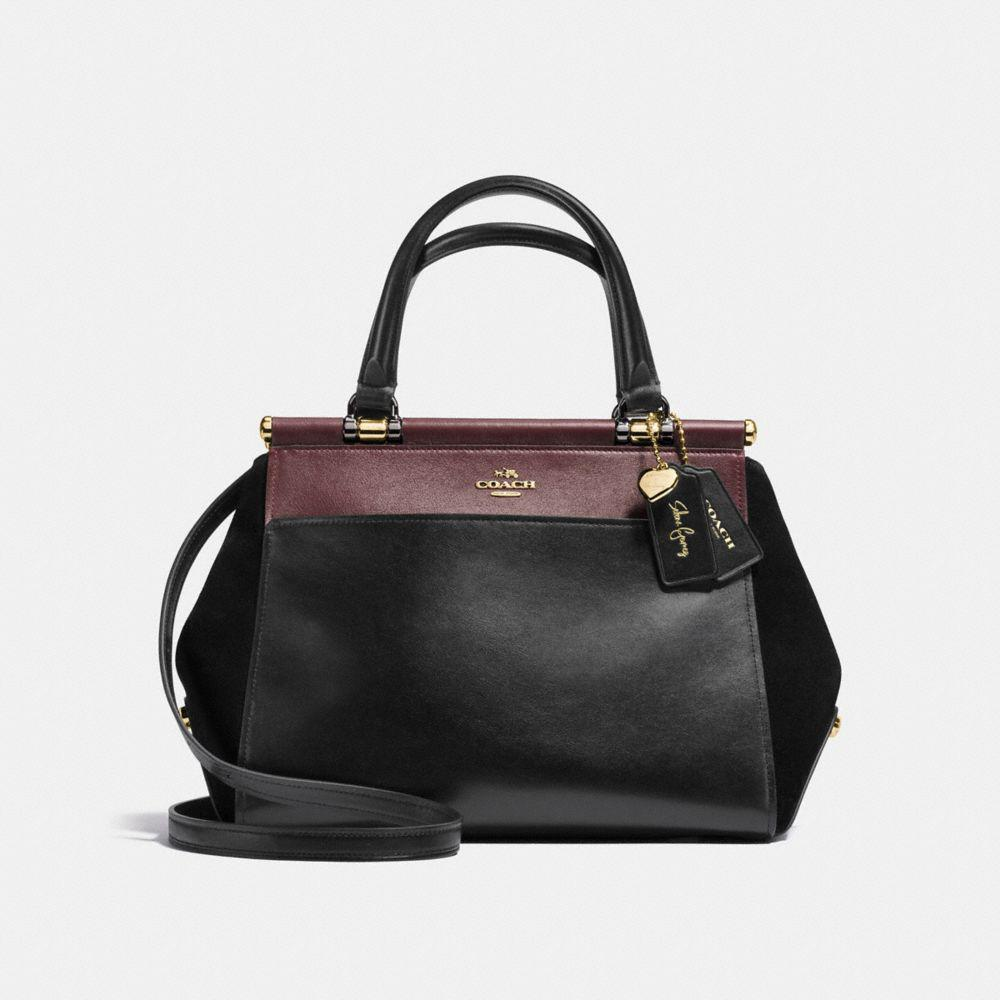 ... where can i buy lyst coach selena grace bag in colorblock mixed  leathers in black 57d24 59e2a2db1a0e4