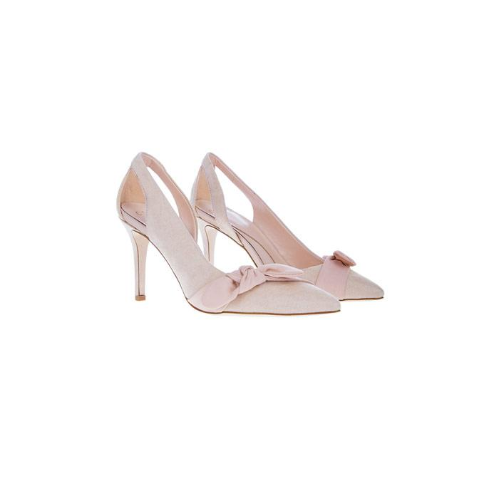 9d2a33db1dd Coast Elina Bow Court Heel in Pink - Lyst