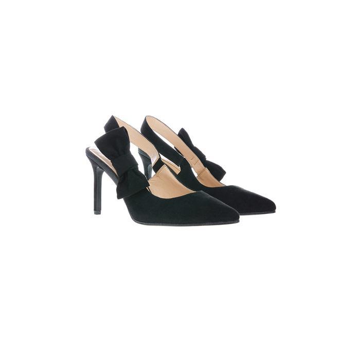 factory outlet sale online discounts online Black 'Helena' bow heel shoes cheap pre order sale geniue stockist RDirzRn