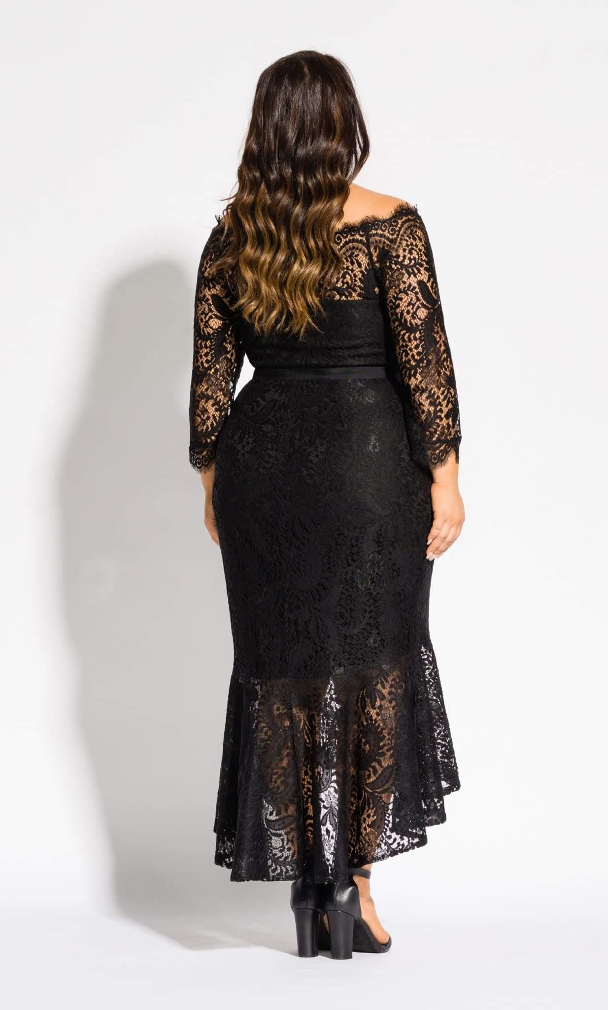 40fec15885a City Chic - Black Estella Maxi Dress - Lyst. View fullscreen