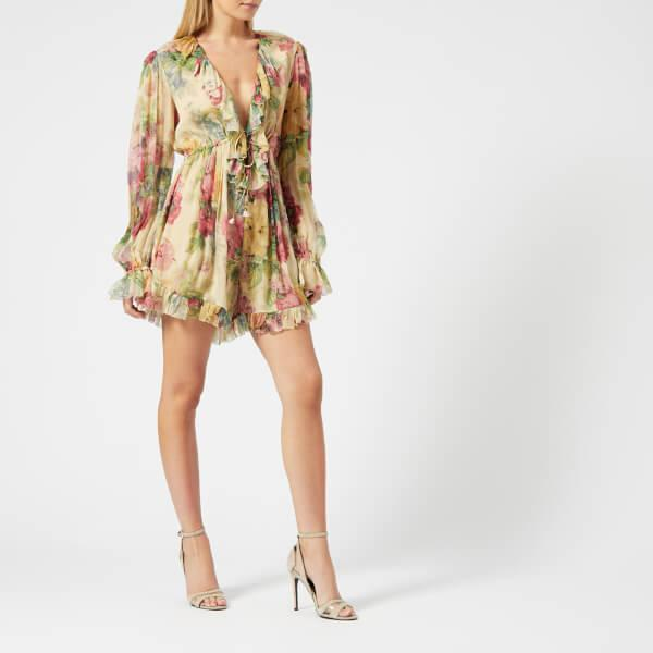77c3bc6c03f Lyst - Zimmermann Melody Floating Playsuit