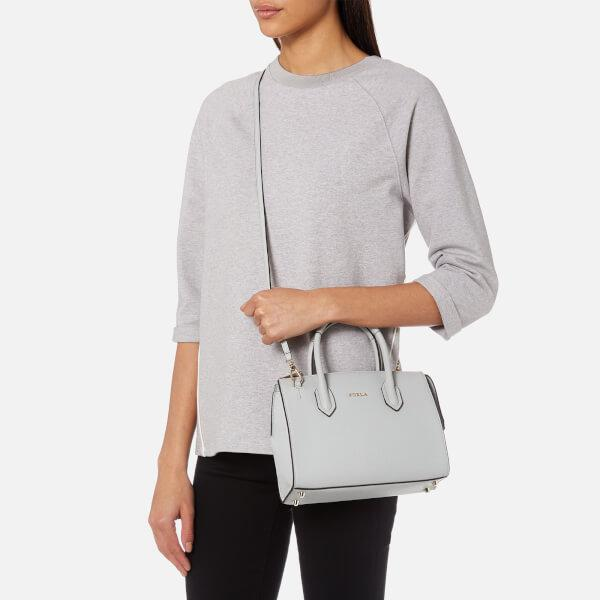 Lyst - Furla Pin Small Satchel in Gray 80cce6c0c30