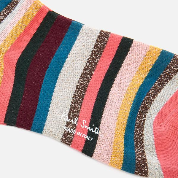 1bd033f94 PS by Paul Smith Clarissa Lurex Swirl Socks - Lyst