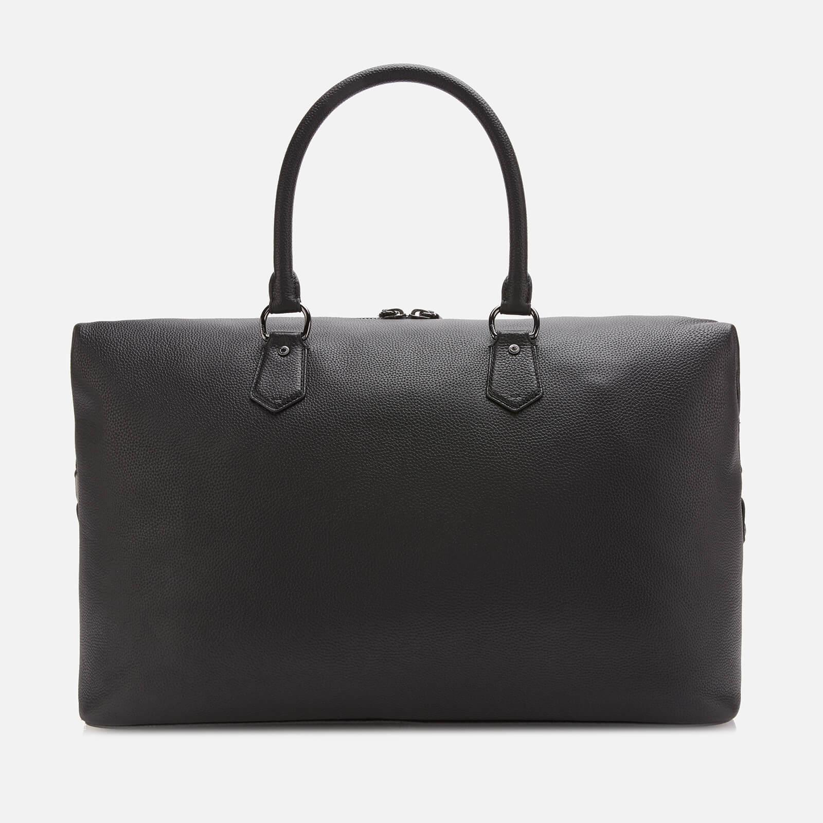52b9a2aa8d5 Polo Ralph Lauren - Black Web Strap Pebble Duffle Bag for Men - Lyst. View  fullscreen