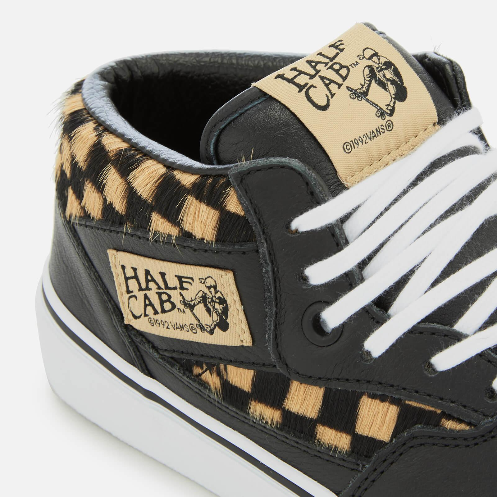 353c2bf54b Lyst - Vans Half Cab Pony Hair Trainers for Men