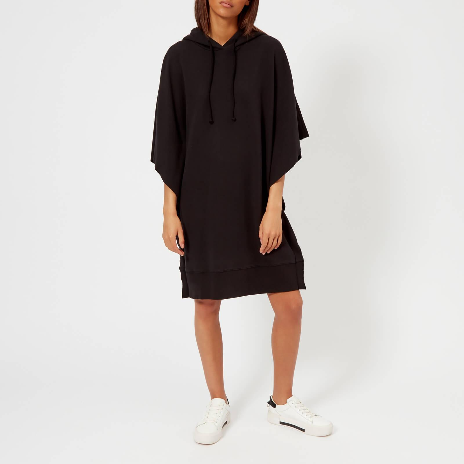 2274b431143 MM6 by Maison Martin Margiela No 6 Back Print Oversized Hooded Top ...