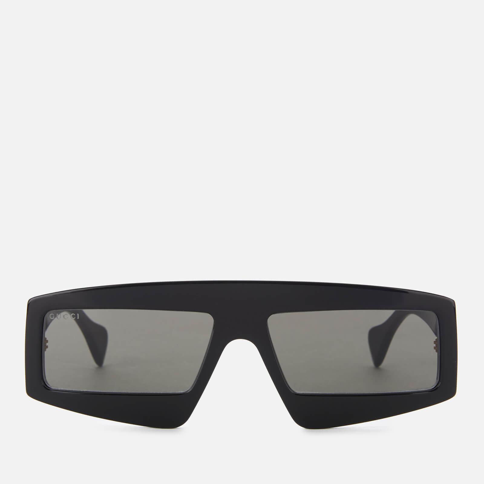 546b079977c Gucci - Black Acetate Sunglasses - Lyst. View fullscreen