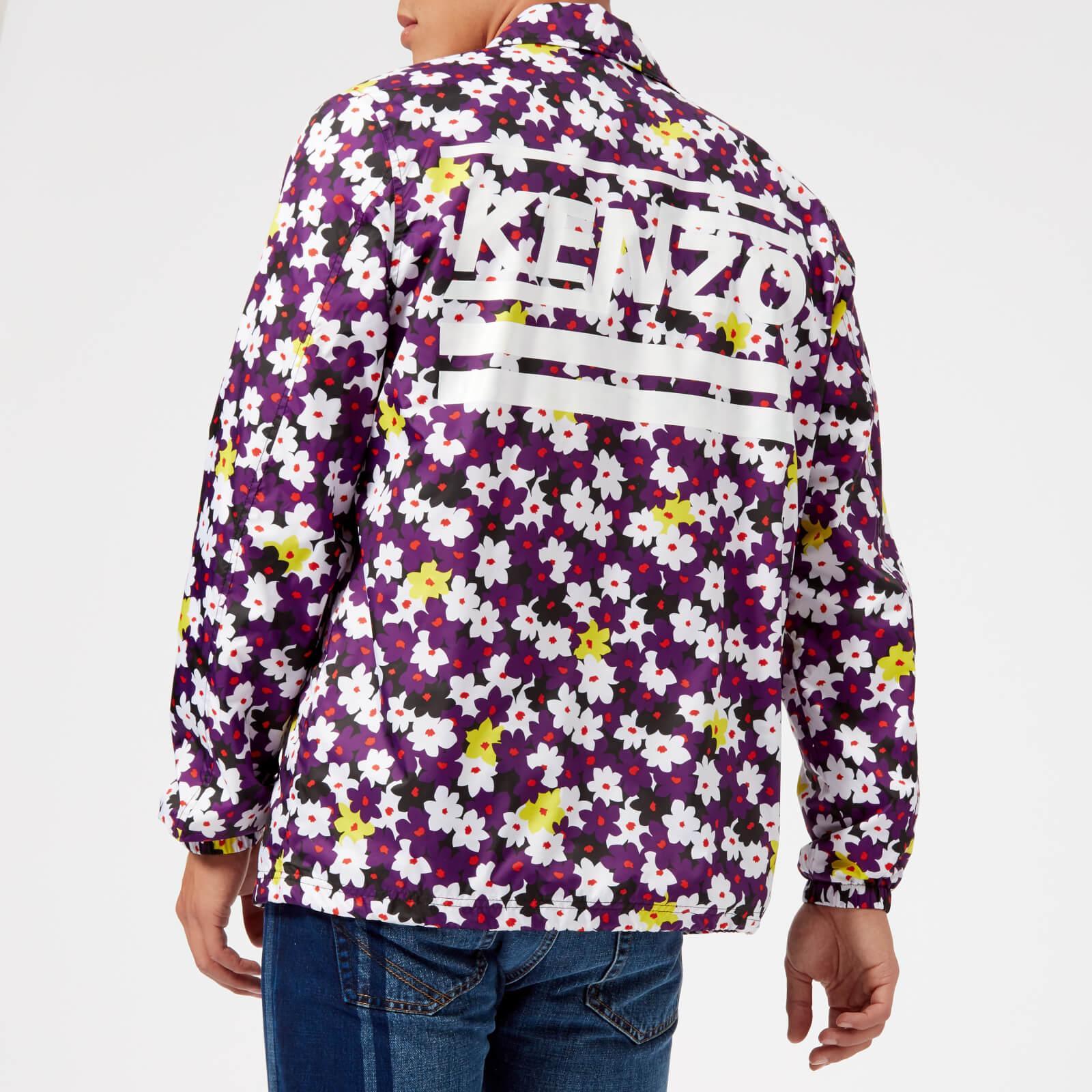 b3e9dd3b08fd Lyst - KENZO Floral Coach Jacket for Men - Save 34%