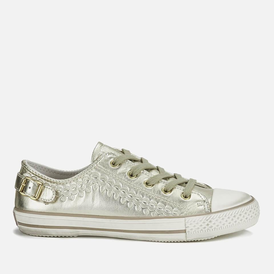 3dd041ad0f Lyst - Ash Virgo Iron Low Top Trainers in Metallic
