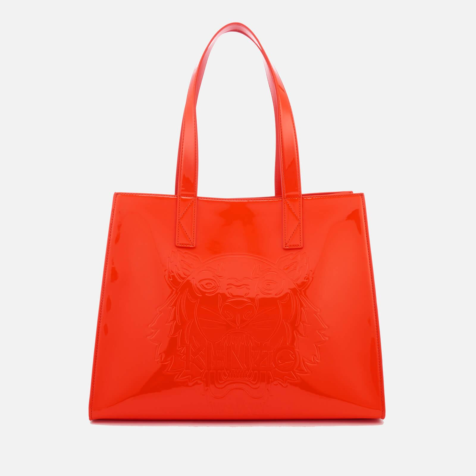 0b84abbe9f KENZO Icon Horizontal Tote Bag in Red - Lyst
