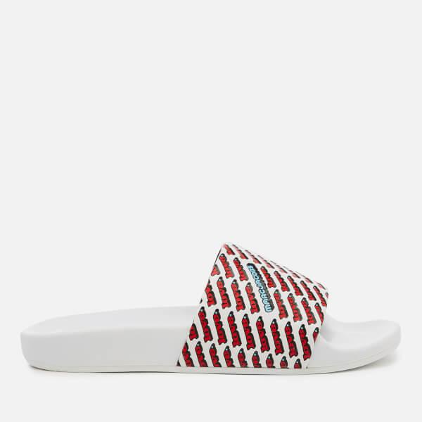 15757b3114ba Marc Jacobs - White Women s Love Aqua Slide Sandals - Lyst. View fullscreen