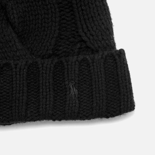 Lyst - Polo Ralph Lauren Women s Rope Hat in Black f3f8fc7f6