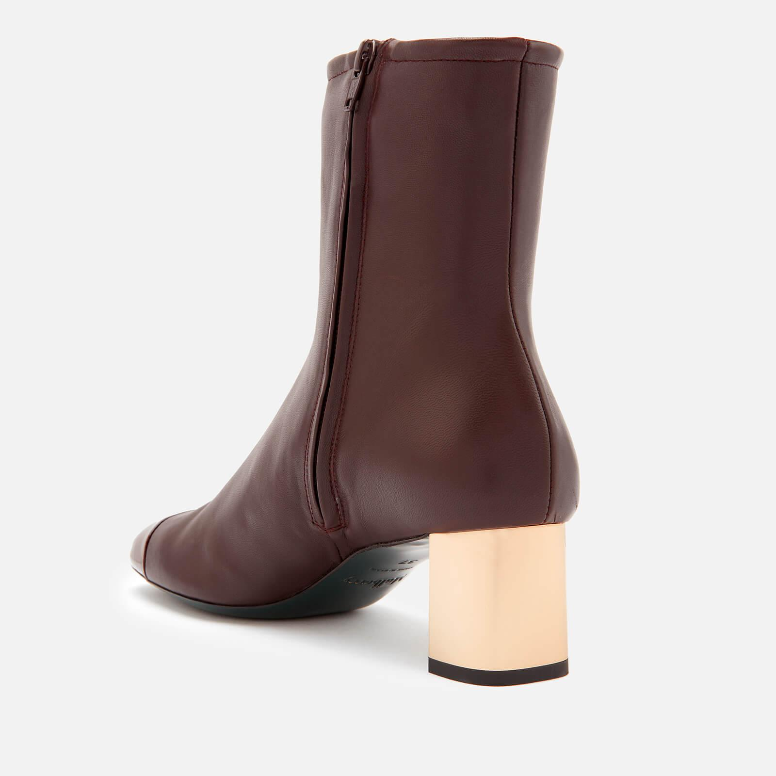 f7cbd97d328 Mulberry - Red Patent Heeled Ankle Boots - Lyst. View fullscreen