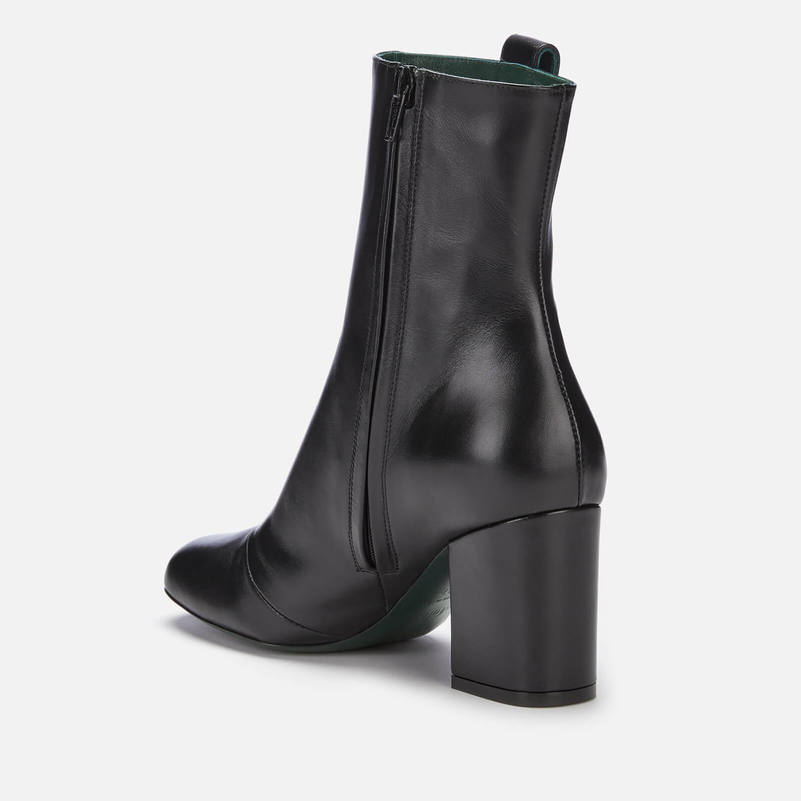 af07ce03db2 Mulberry - Black Amberley Leather Heeled Boots - Lyst. View fullscreen