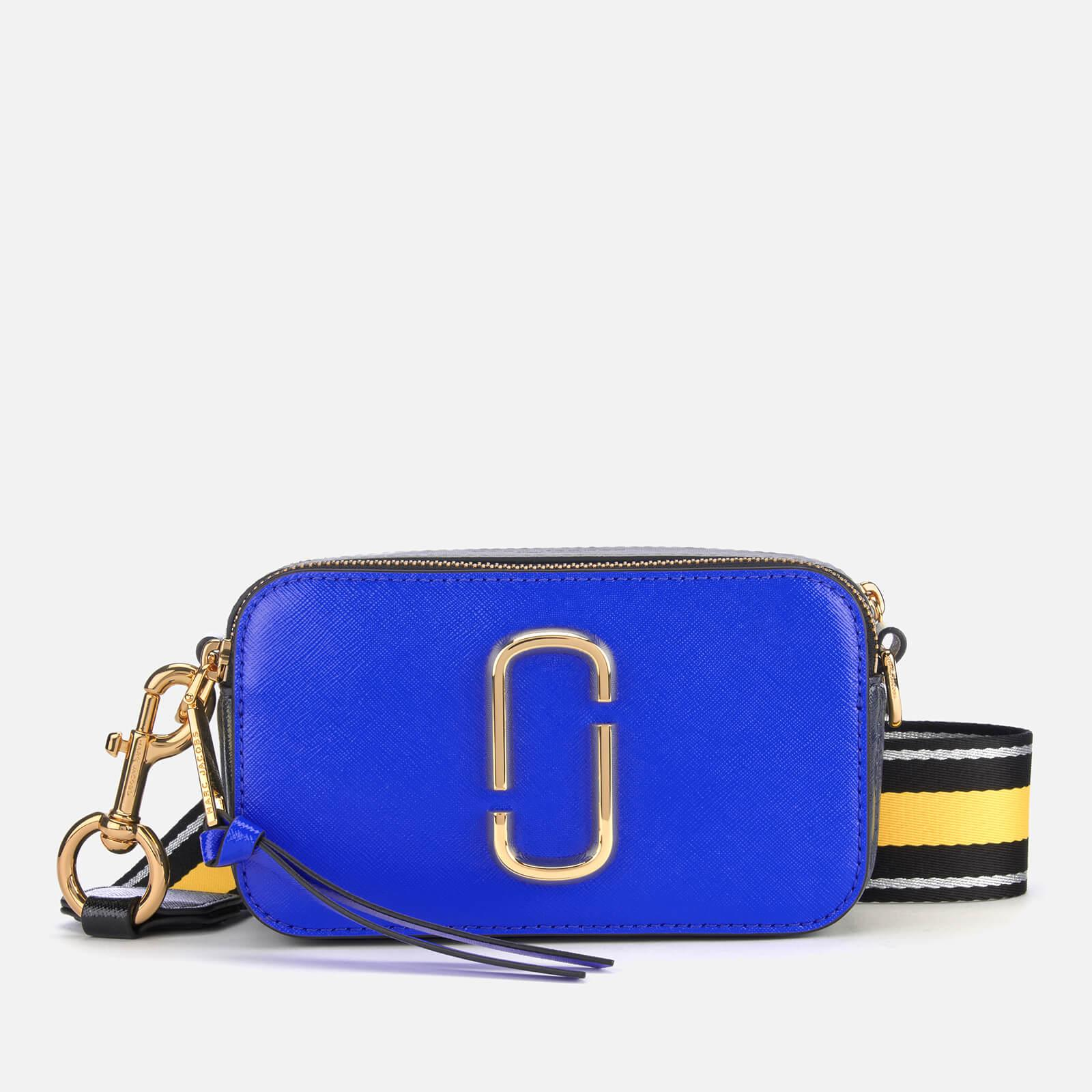 51147cd39a4 Marc Jacobs Snapshot Cross Body Bag in Blue - Save 45% - Lyst