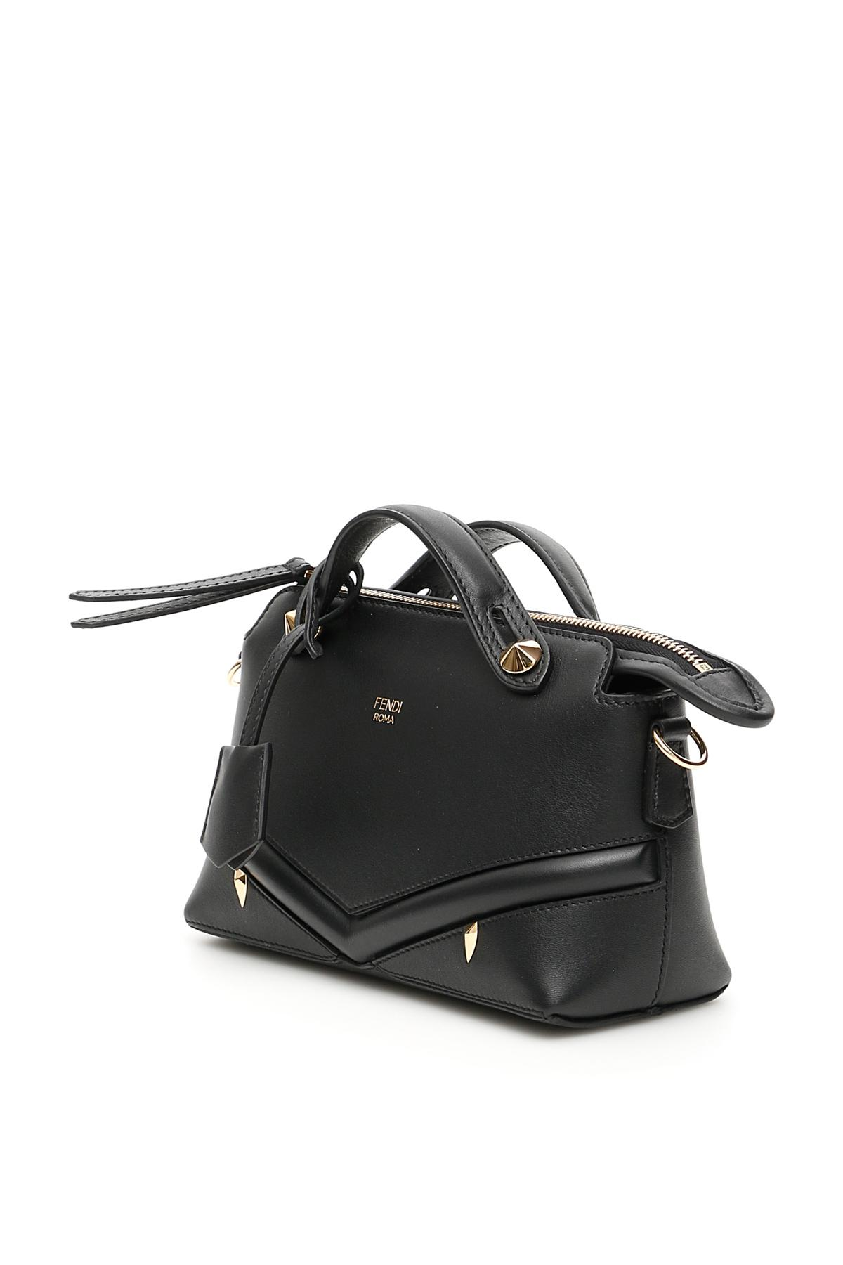 1eb8b13a73fb Lyst - Fendi By The Way Bag Bugs Mini Bag in Black