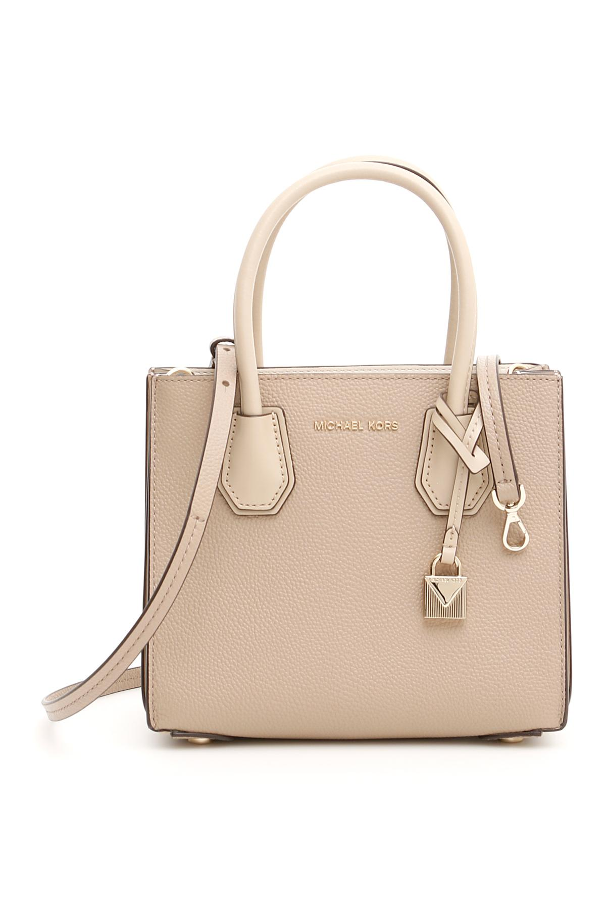 e7b35a28050111 Michael Michael Kors Small Mercer Bag in Natural - Lyst