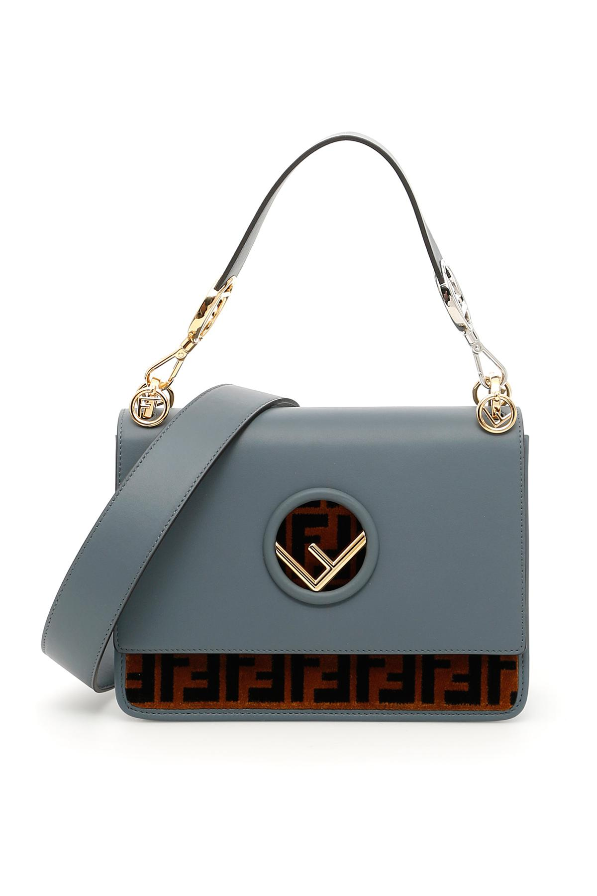 264d2ffece6f Lyst - Fendi Kan I F Bag in Blue