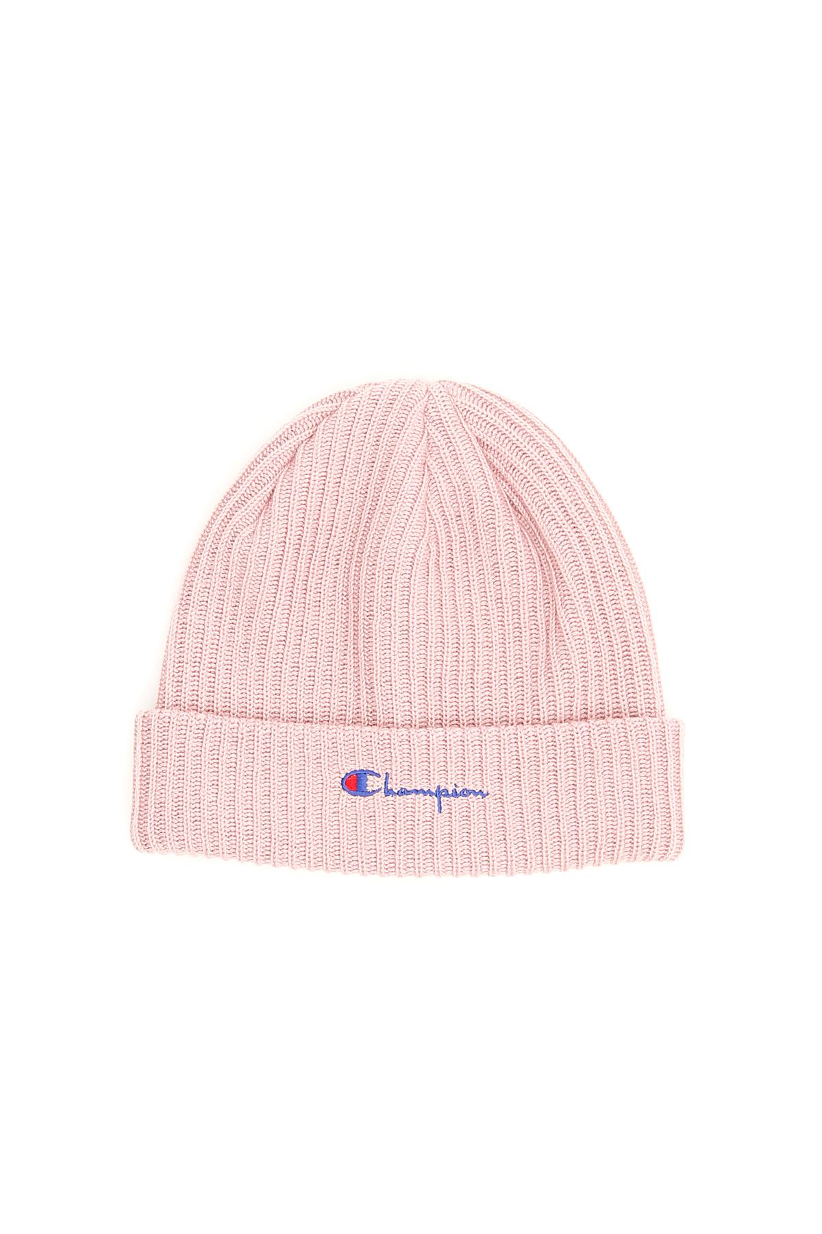 8a3634dfb Champion Unisex Wool Beanie With Logo in Pink for Men - Lyst
