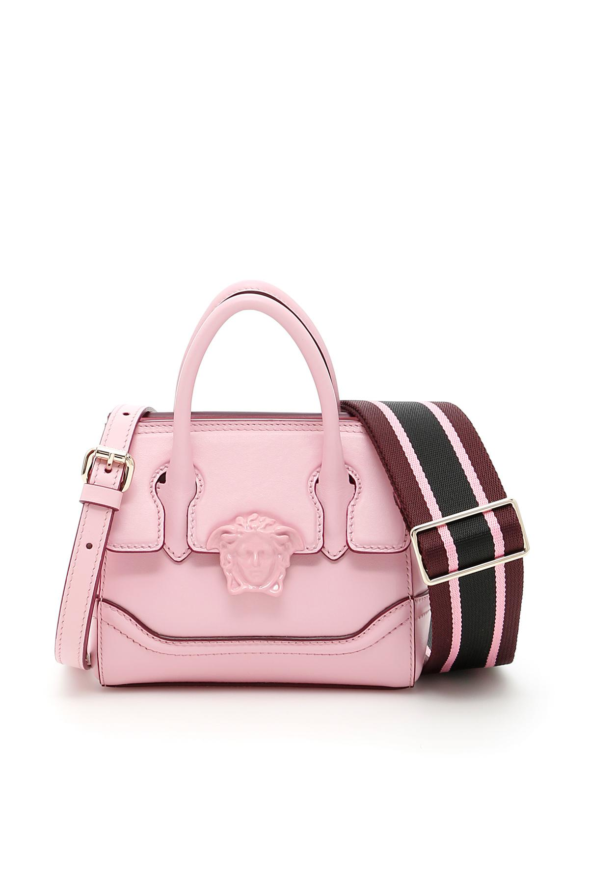 e8057616a620 Lyst - Versace Palazzo Empire Shoulder Bag in Pink