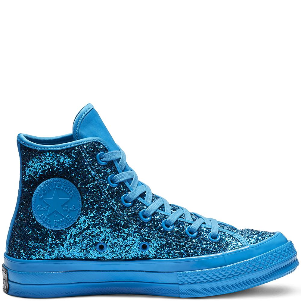 05fe1c1a66e57e Converse Chuck 70 After Party Glitter High Top in Blue for Men - Lyst