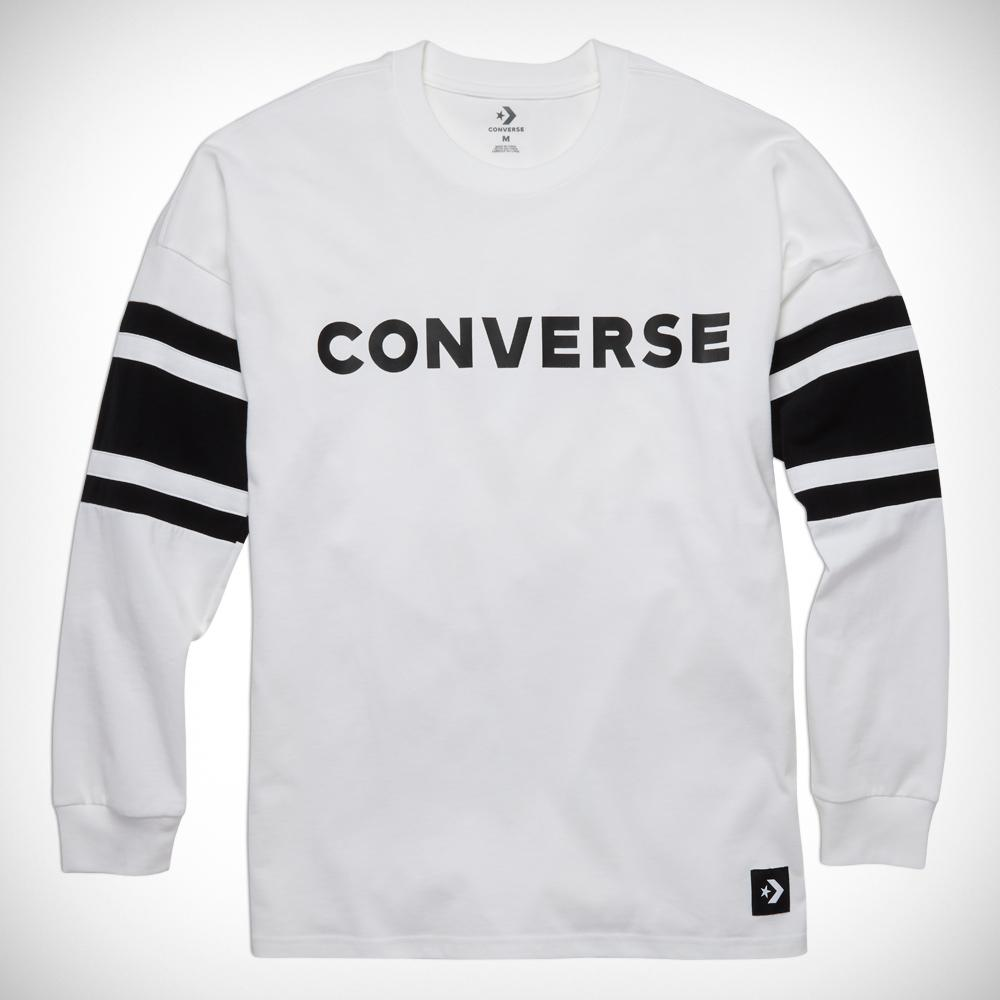 9f2d2eaa6c4c Converse Men Football Jersey in White for Men - Lyst