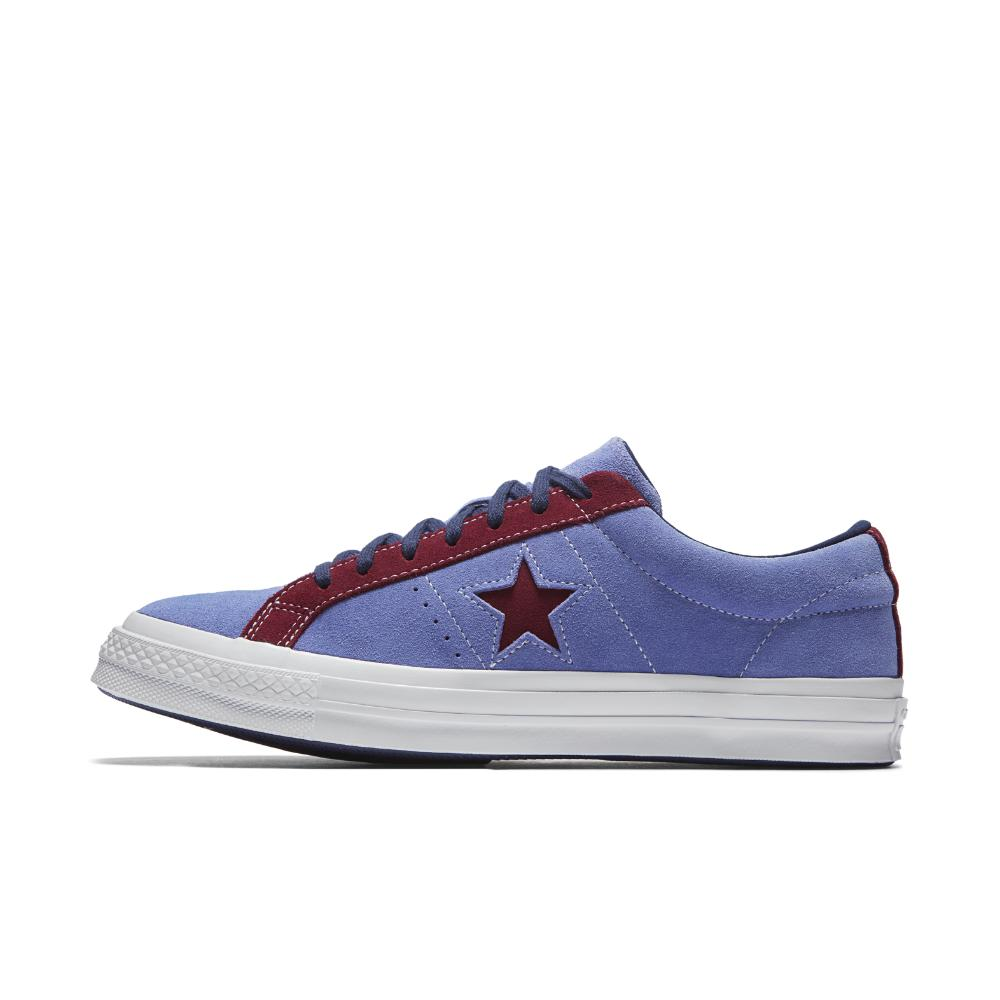 5191424cd6cf Lyst - Converse One Star Carnival Low Top Men s Shoe in Blue for Men