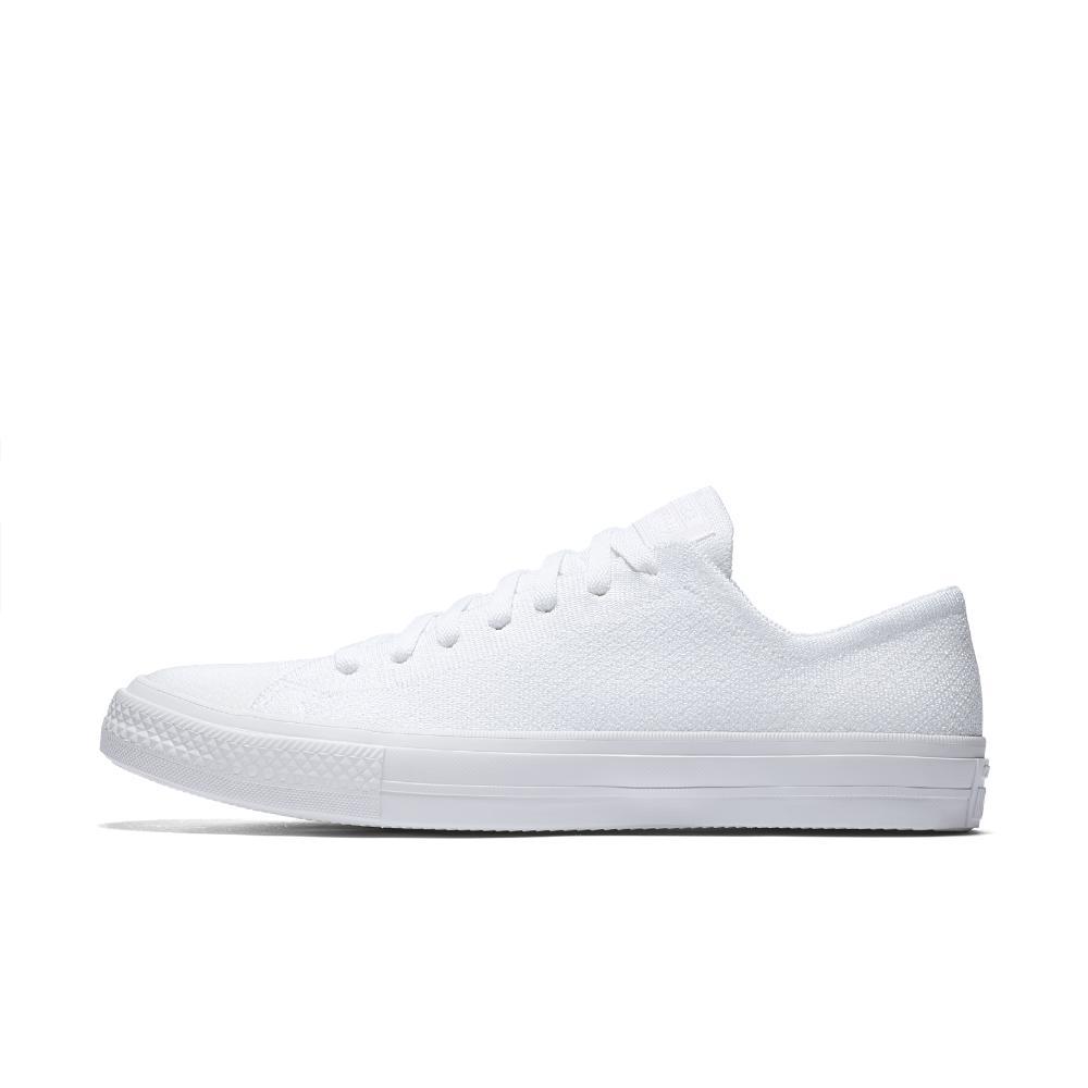 3fc9c626e7d Lyst - Converse Chuck Taylor All Star X Nike Flyknit Low Top Men s ...