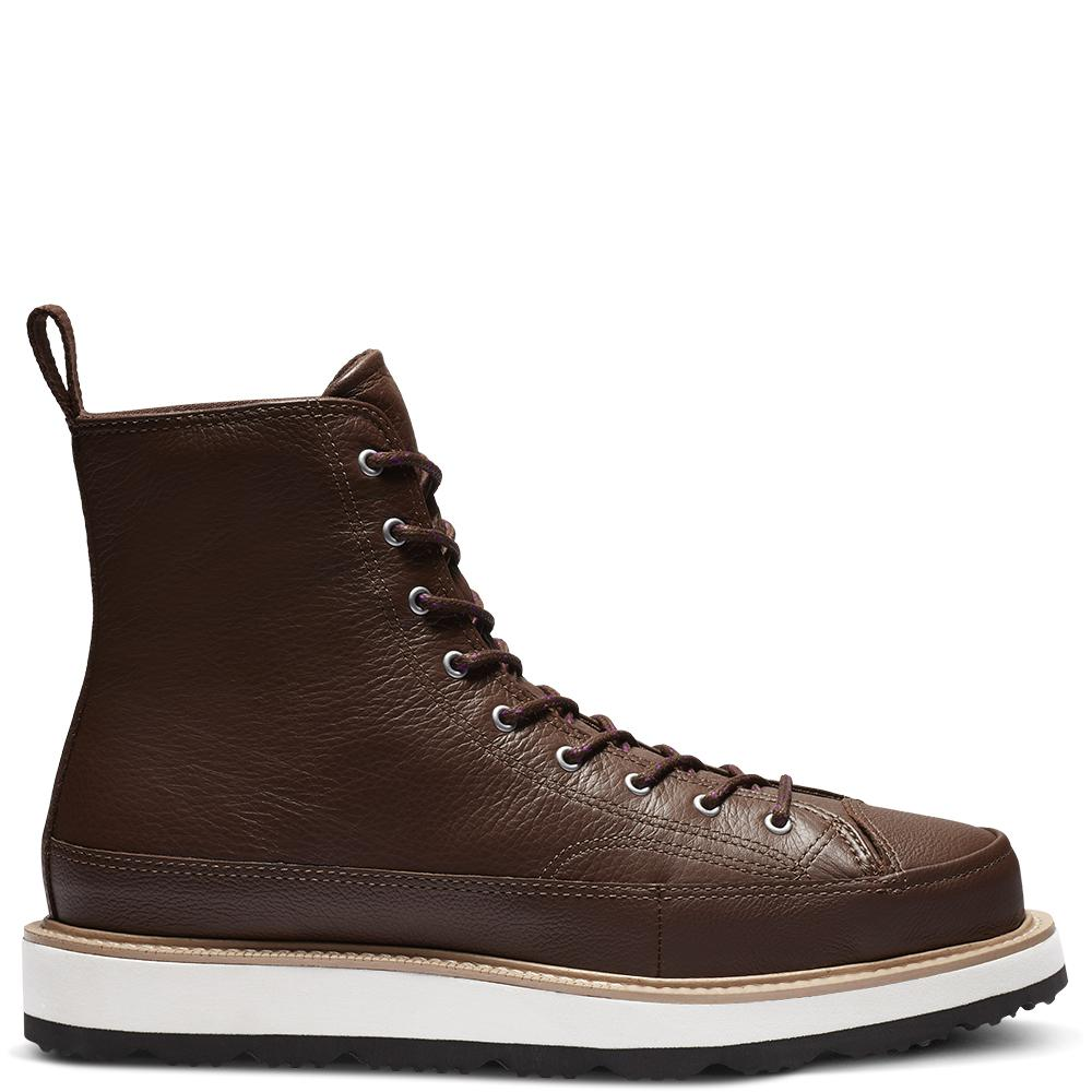44c1633987fb Converse Chuck Taylor All Star Og Explorer Boot Leather in Black for ...