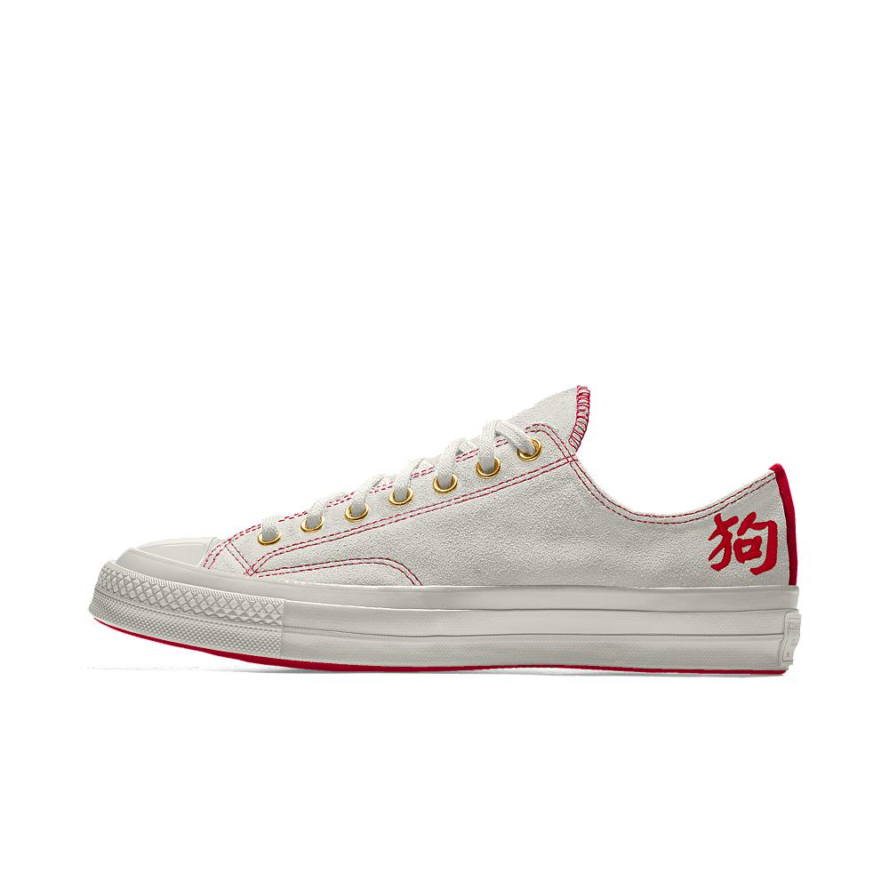 642c02bc2bb Lyst - Converse Custom Chuck 70 Suede Chinese New Year Low Top Shoe ...