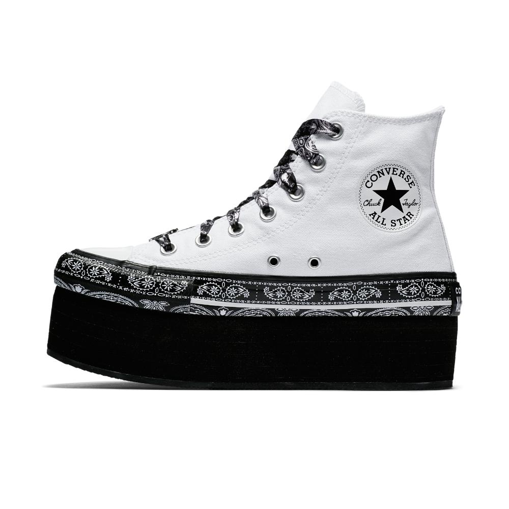 c8d08610ee55 Lyst - Converse X Miley Cyrus Chuck Taylor All Star Platform High ...